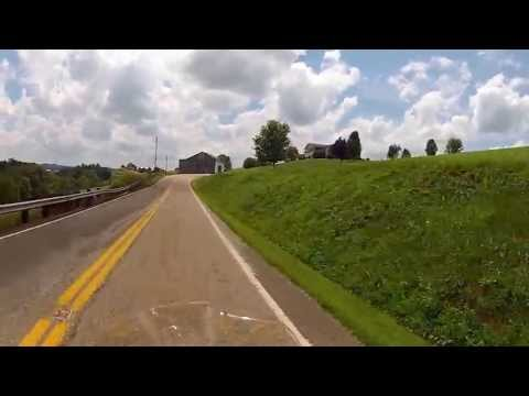 Motorcycle Tour { Ohio's Tail of the Dragon } St Rt 536 Heading South HD