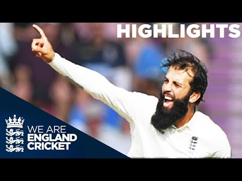 Moeen Takes 5-63 Despite Pujara Century | England v India 4th Test Day 2 2018 - Highlights