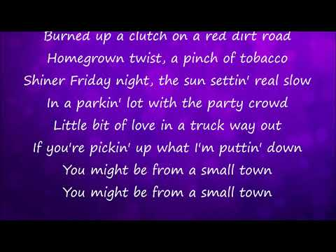 Small Town - Florida Georgia Line Lyrics