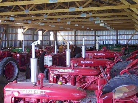 Nebraska Farmer's Antique Tractor Collection