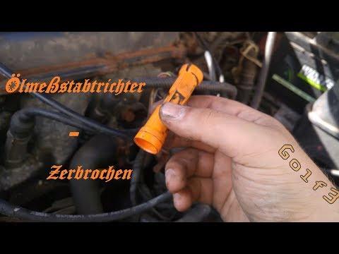 ÖLPEILSTAB ÖLTRICHTER TRICHTER FÜR ÖLMESSSTAB ÖLSTAB VW POLO 6K SHARAN 7M