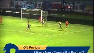 All Goals Ujicoba Arema Cronus Vs Persija Jakarta [5-0] 7 Maret 2015