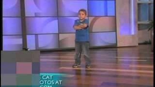 Ellen - 6yr old Tanner Edwards dances & gets a surprise