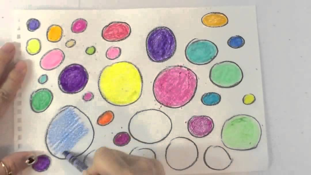 Crayola Drawing Shapes Circle Ball Bubbles Color Crayons By Toys For Kids Co