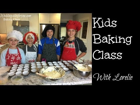 Kids Baking Class at Wedding Cakes For You