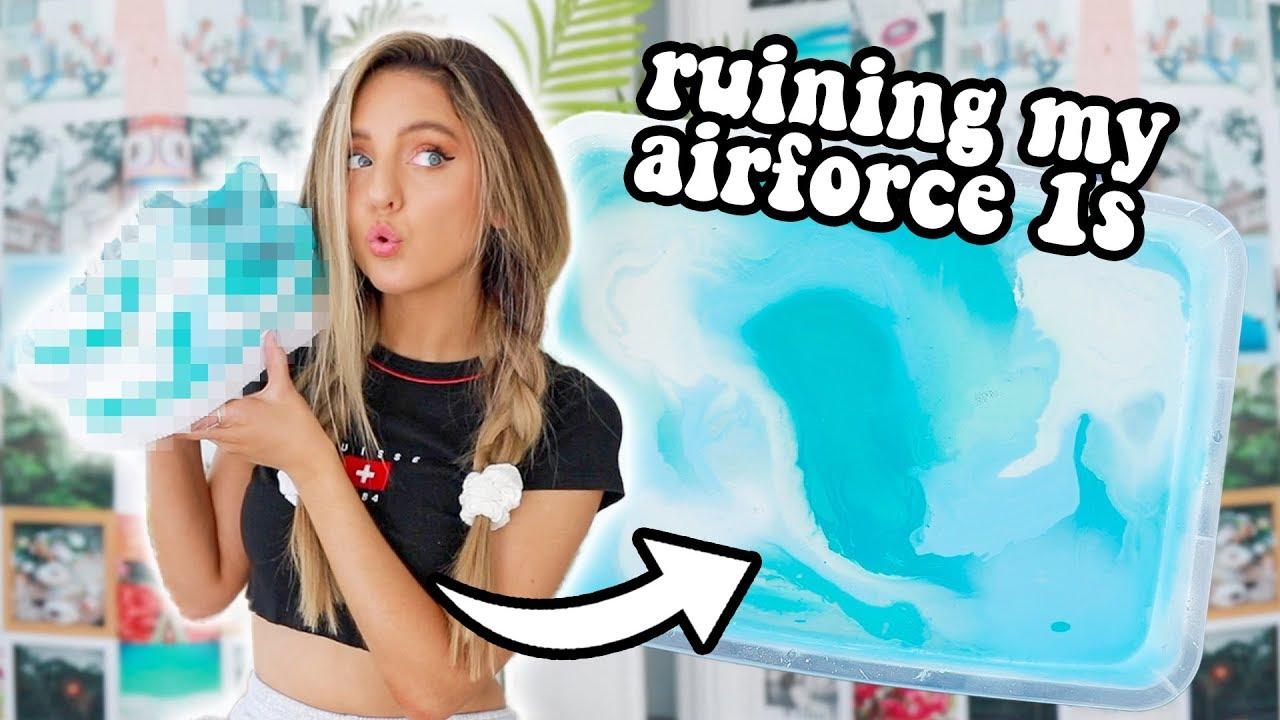 [VIDEO] - CUSTOM Air Force 1'sFAIL ?? (SaTiSFying) + GIVEAWAY 6