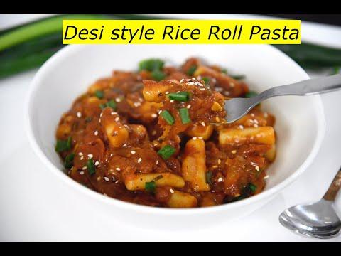 desi-style-rice-roll-pasta-|-rice-pasta-recipe