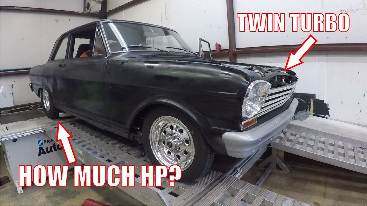 Twin Turbo LS Nova Dyno Tuning Holley EFI