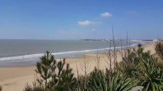 La plage au printemps - Camping Bois Soleil