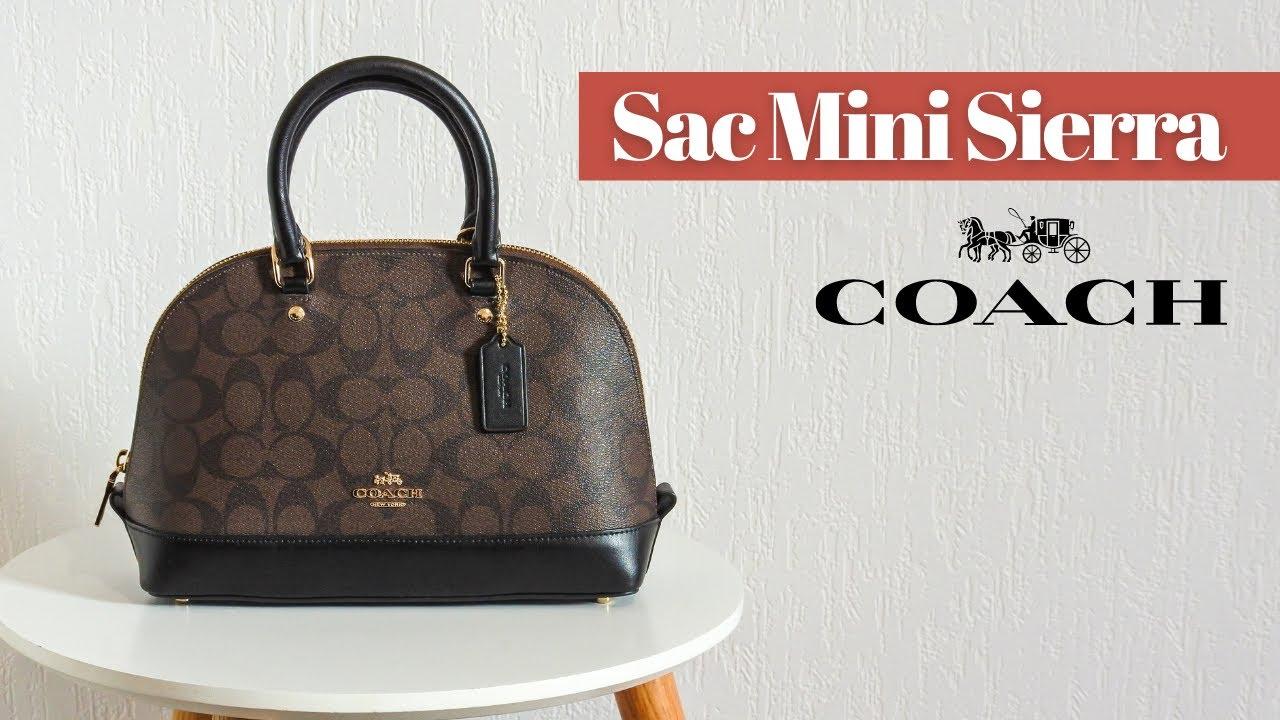 Le sac Mini Sierra de Coach • Présentation & avis