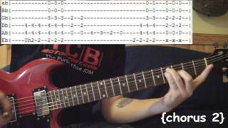 Rooster by Alice in Chains - Full Guitar Lesson & Tabs