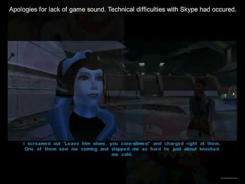 Masky and Kalma Play Kotor 1.22 Mission and Zaalbar's Origin Story