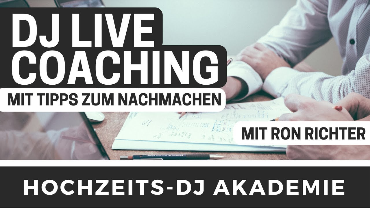 DJ Coaching zu Webseite & Social Media mit Ron Richter | DJ Workshop & DJ Podcast | HDJ72
