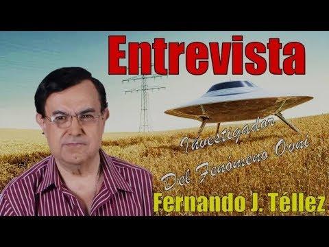 RADIO OVNI / ENTREVISTA A FERNANDO J. TELLEZ / 10 DE JULIO DE 2017
