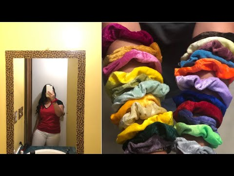 Scrunchies pick my school outfits for a week !