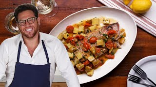 Roasted Whole Red Snapper As Made By Scott Conant • Tasty