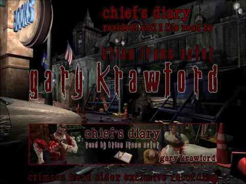 Chief&39;s Diary recording by Gary Krawford