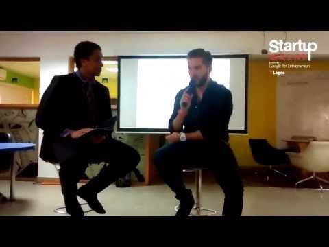Marek Zmyslowski (Jovago) At Startup Grind Lagos