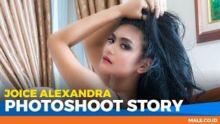 JOICE ALEXANDRA di Behind the Scenes Photoshoot - Male Indonesia | Model Seksi Indo