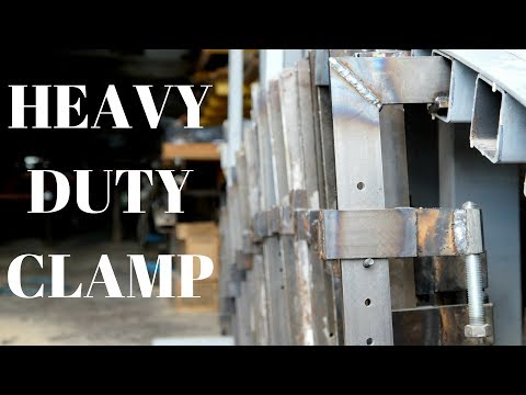 Making a heavy-duty clamp for laminating