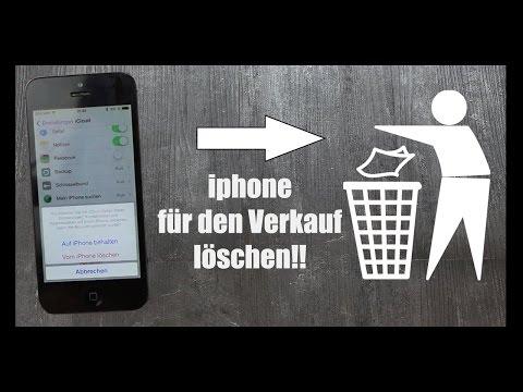 iPhone RICHTIG löschen