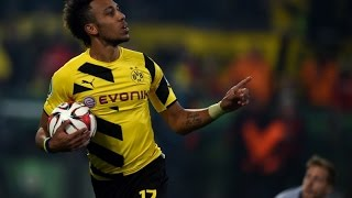 Pierre-Emerick Aubameyang African Player Of The Year 2015 | BvB 2015/2016 Goals & assists