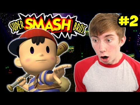how to get ness in super smash bros