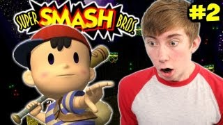 Super Smash Bros - HOW TO UNLOCK NESS - Part 2