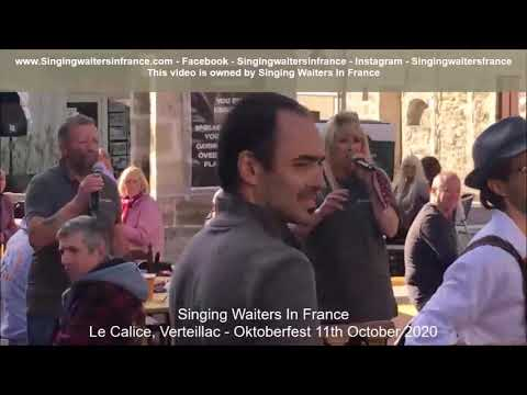 Singing Waiters In France