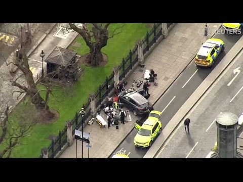Zeker twee doden bij terroristische aanval Londen - Nieuwsminuut #2203