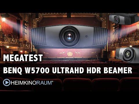 MEGATEST: BenQ W5700 4K UltraHD HDR 3D Beamer