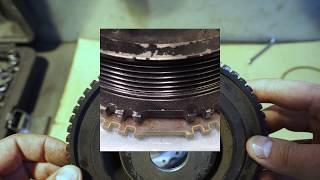 """двойная корзина для """"КАВКАЗИИ"""",финальная подготовка для установки турбо мотора ."""