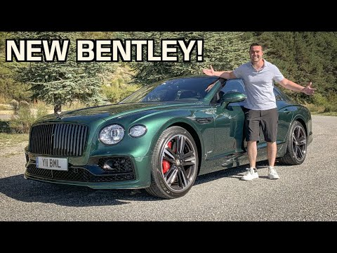 2020 Bentley Flying Spur First Drive Review! - Better Than A Rolls Royce Ghost?