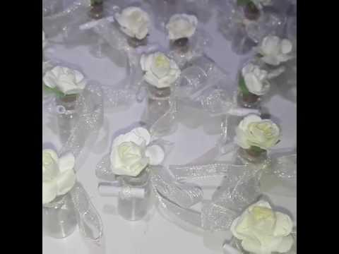 Сватбени сувенири за гости с изкуствени цветя от PokaniLux