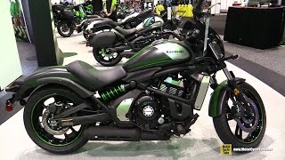 2016 Kawasaki Vulcan S Cafe ABS - Walkaround - Debut at 2015 AIMExpo Orlando