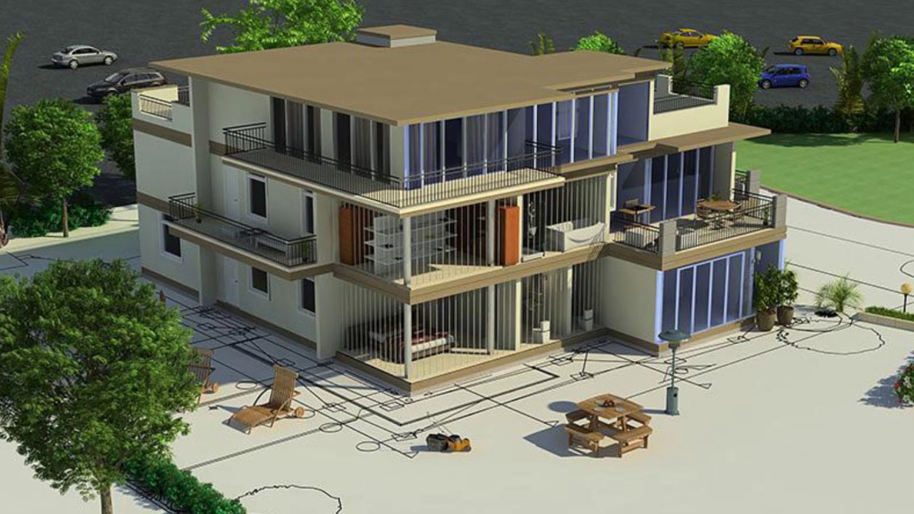 Caddetails free cad drawings 3d cad models revit files and for Build house online 3d free