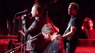 Pearl Jam & Sting - Driven To Tears - New York City (May 2, 2016)