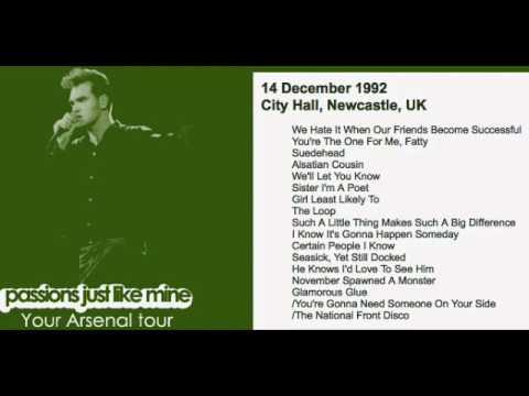 morrissey---december-14,-1992---newcastle,-england,-uk-(full-concert)-live