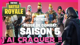 Fortnite // I crack Purchase of the fight pass season 5 - Skin legendair
