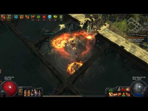 Path Of Exile - Earthquake Berserker Arsenal map