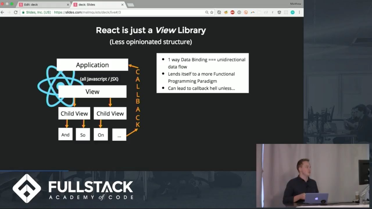 Tech Talk: 1 vs 2 way Data Binding in React and Angular