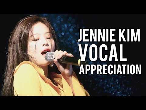 BLACKPINK JENNIE VOCAL APPRECIATION (Singing Compilation)