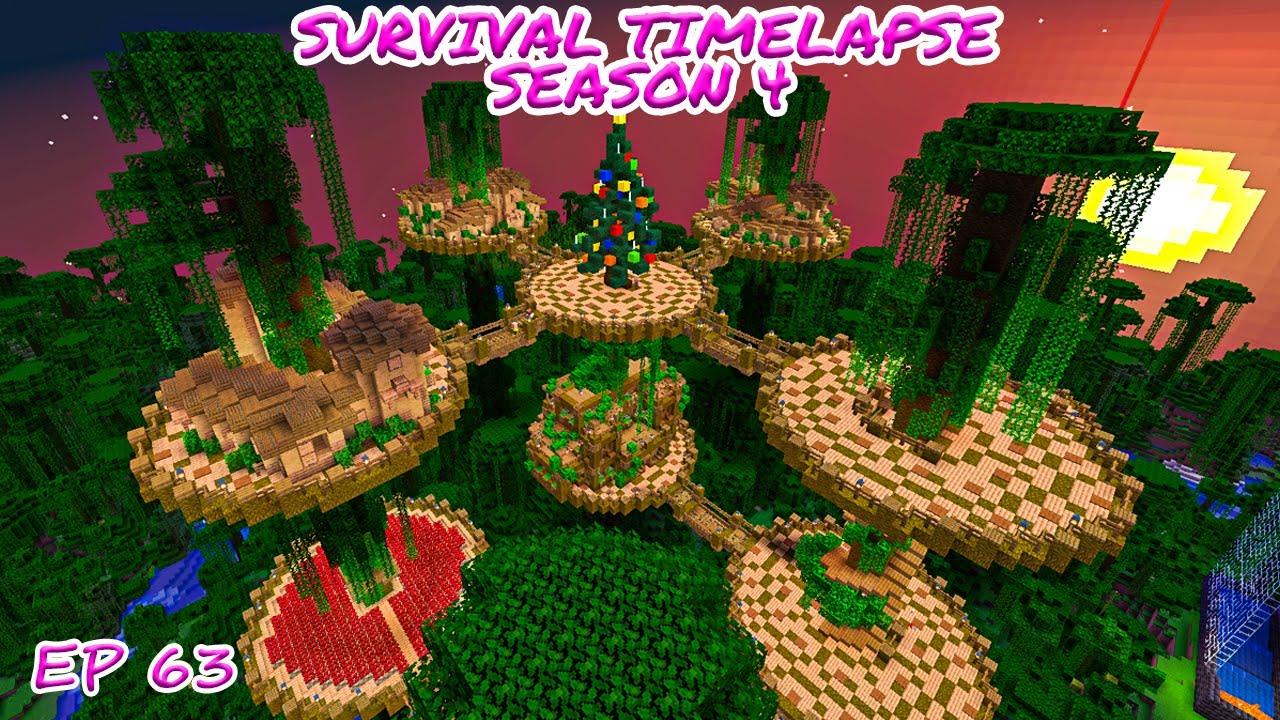 Download New year, New Base! Minecraft Survival Timelapse Season 4 Episode 63