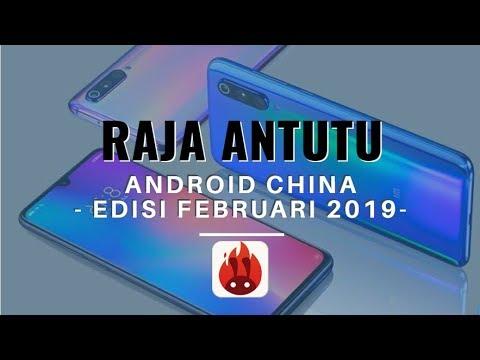 10 HP Android China Dengan Skor AnTuTu Terbaik Edisi Februari 2019