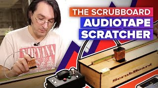 The ScrubBoard audiotape scratcher lets you jam like a DJ