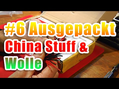 6 ausgepackt china stuff wolle youtube. Black Bedroom Furniture Sets. Home Design Ideas