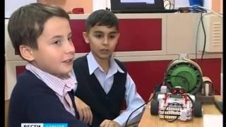 Современные лицеисты изучают робототехнику на уроках