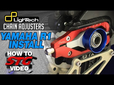 How To Install Lightech Chain Adjusters From SportbikeTrackGear.com