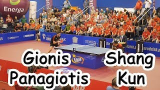 Gionis Panagiotis vs Shang Kun | Final Polish Superleague 2019