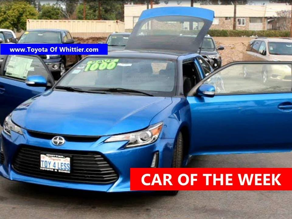 lease or buy scion tc deals on new or used car toyota of whittier should i los angeles 888 718. Black Bedroom Furniture Sets. Home Design Ideas